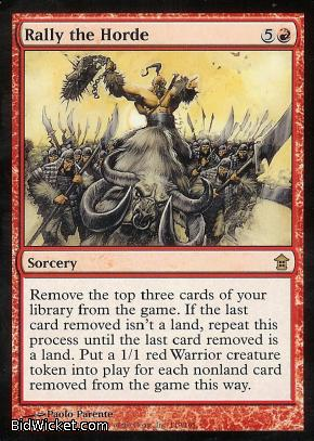 Rally the Horde, Saviors of Kamigawa, Magic the Gathering