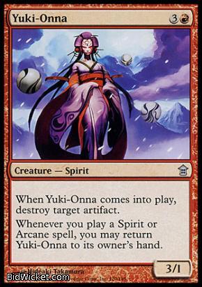 Yuki-Onna, Saviors of Kamigawa, Magic the Gathering