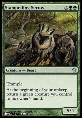 Stampeding Serow, Saviors of Kamigawa, Magic the Gathering