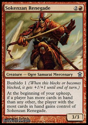 Sokenzan Renegade, Saviors of Kamigawa, Magic the Gathering