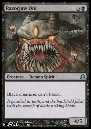 Razorjaw Oni, Saviors of Kamigawa, Magic the Gathering