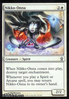 Nikko-Onna, Saviors of Kamigawa, Magic the Gathering