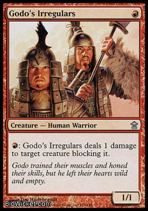Godo's Irregulars, Saviors of Kamigawa, Magic the Gathering