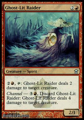 Ghost-Lit Raider, Saviors of Kamigawa, Magic the Gathering