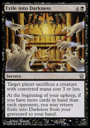 Exile into Darkness, Saviors of Kamigawa, Magic the Gathering