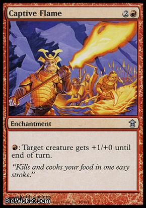Captive Flame, Saviors of Kamigawa, Magic the Gathering