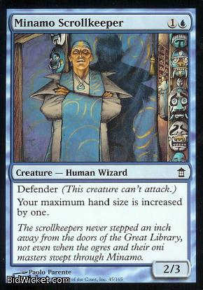 Minamo Scrollkeeper, Saviors of Kamigawa, Magic the Gathering