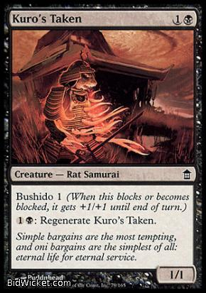 Kuro's Taken, Saviors of Kamigawa, Magic the Gathering