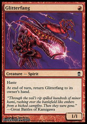 Glitterfang, Saviors of Kamigawa, Magic the Gathering