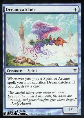 Dreamcatcher, Saviors of Kamigawa, Magic the Gathering
