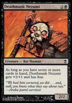 Deathmask Nezumi, Saviors of Kamigawa, Magic the Gathering