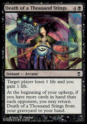 Death of a Thousand Stings, Saviors of Kamigawa, Magic the Gathering