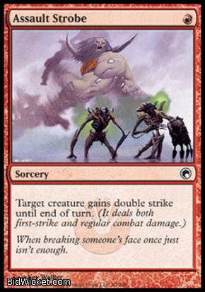 Assault Strobe, Scars of Mirrodin, Magic the Gathering