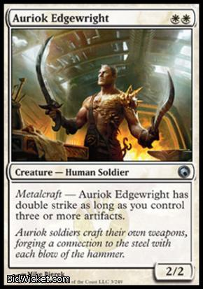 Auriok Edgewright, Scars of Mirrodin, Magic the Gathering