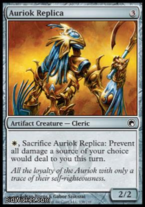 Auriok Replica, Scars of Mirrodin, Magic the Gathering