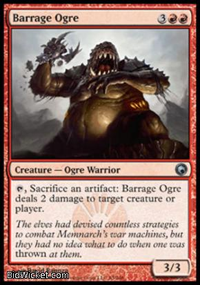 Barrage Ogre, Scars of Mirrodin, Magic the Gathering