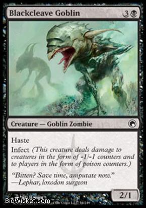 Blackcleave Goblin, Scars of Mirrodin, Magic the Gathering