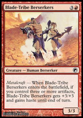 Blade-Tribe Berserkers, Scars of Mirrodin, Magic the Gathering