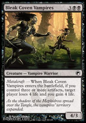 Bleak Coven Vampires, Scars of Mirrodin, Magic the Gathering