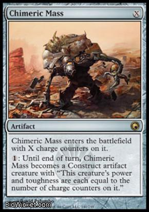 Chimeric Mass, Scars of Mirrodin, Magic the Gathering