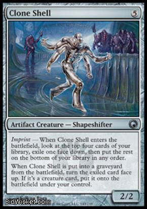 Clone Shell, Scars of Mirrodin, Magic the Gathering