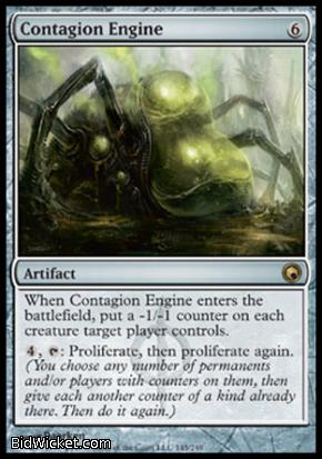Contagion Engine, Scars of Mirrodin, Magic the Gathering