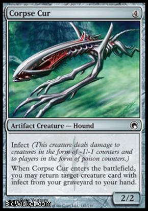 Corpse Cur, Scars of Mirrodin, Magic the Gathering