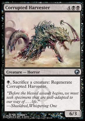 Corrupted Harvester, Scars of Mirrodin, Magic the Gathering