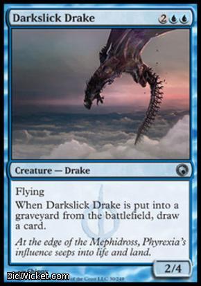 Darkslick Drake, Scars of Mirrodin, Magic the Gathering