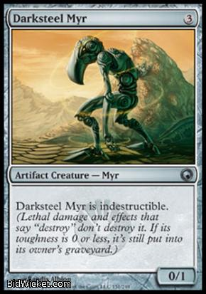 Darksteel Myr, Scars of Mirrodin, Magic the Gathering