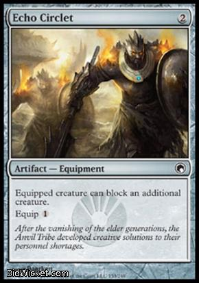 Echo Circlet, Scars of Mirrodin, Magic the Gathering