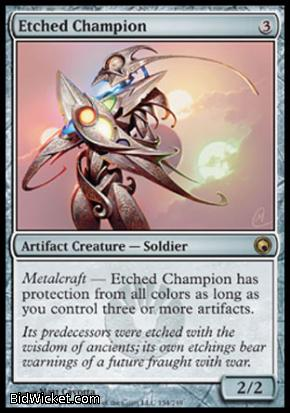 Etched Champion, Scars of Mirrodin, Magic the Gathering