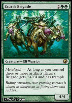 Ezuri's Brigade, Scars of Mirrodin, Magic the Gathering