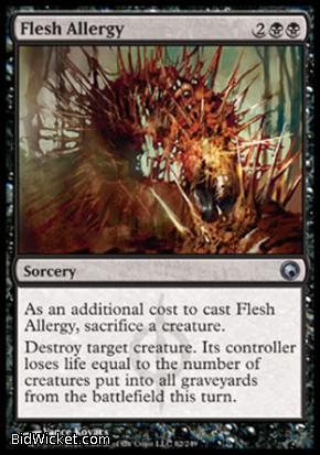 Flesh Allergy, Scars of Mirrodin, Magic the Gathering