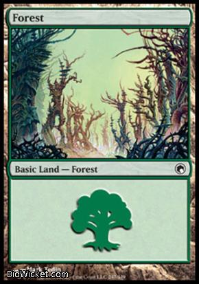 Forest (247), Scars of Mirrodin, Magic the Gathering