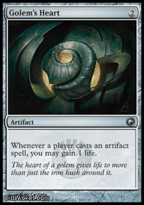 Golem's Heart, Scars of Mirrodin, Magic the Gathering