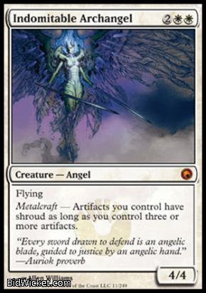 Indomitable Archangel, Scars of Mirrodin, Magic the Gathering