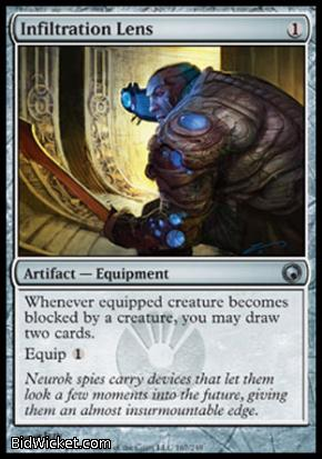 Infiltration Lens, Scars of Mirrodin, Magic the Gathering