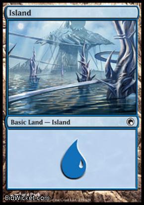 Island (235), Scars of Mirrodin, Magic the Gathering