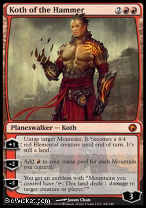 Koth of the Hammer, Scars of Mirrodin, Magic the Gathering