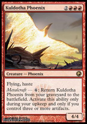 Kuldotha Phoenix, Scars of Mirrodin, Magic the Gathering