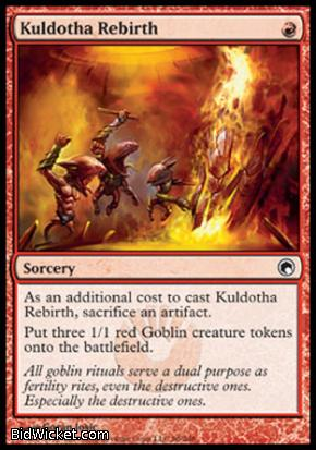 Kuldotha Rebirth, Scars of Mirrodin, Magic the Gathering