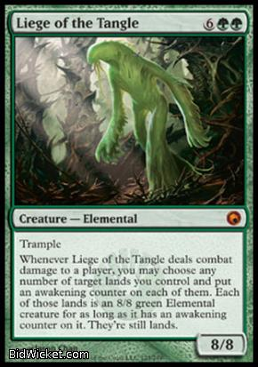 Liege of the Tangle, Scars of Mirrodin, Magic the Gathering