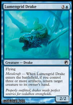Lumengrid Drake, Scars of Mirrodin, Magic the Gathering