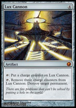Lux Cannon, Scars of Mirrodin, Magic the Gathering