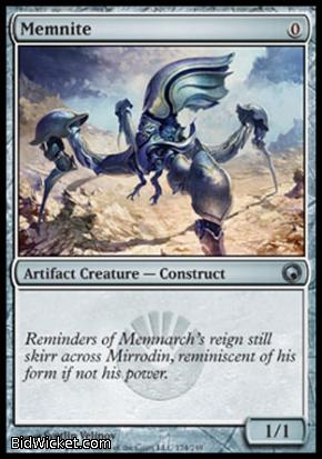 Memnite, Scars of Mirrodin, Magic the Gathering