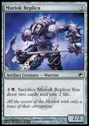 Moriok Replica, Scars of Mirrodin, Magic the Gathering