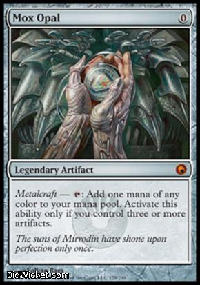 Mox Opal, Scars of Mirrodin, Magic the Gathering