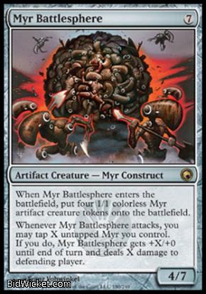 Myr Battlesphere, Scars of Mirrodin, Magic the Gathering