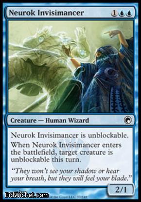 Neurok Invisimancer, Scars of Mirrodin, Magic the Gathering